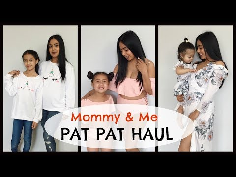 55dd1b5a3 Mommy & Me Outfits! Pat Pat Try On Haul - YouTube