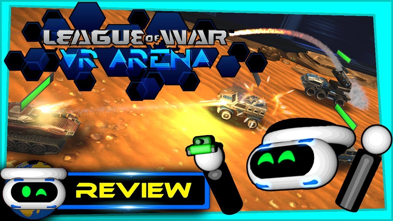 League of War VR Arena PSVR Review