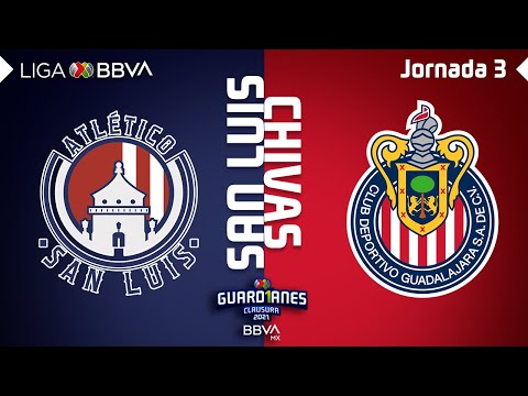 San Luis Guadalajara Chivas Goals And Highlights