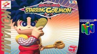 Nintendo 64 Longplay: Mystical Ninja Starring Goemon