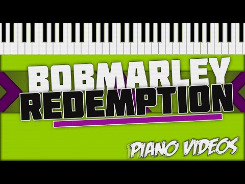 Redemption Song  - Bob Marley Piano Tutorial - Piano Covers