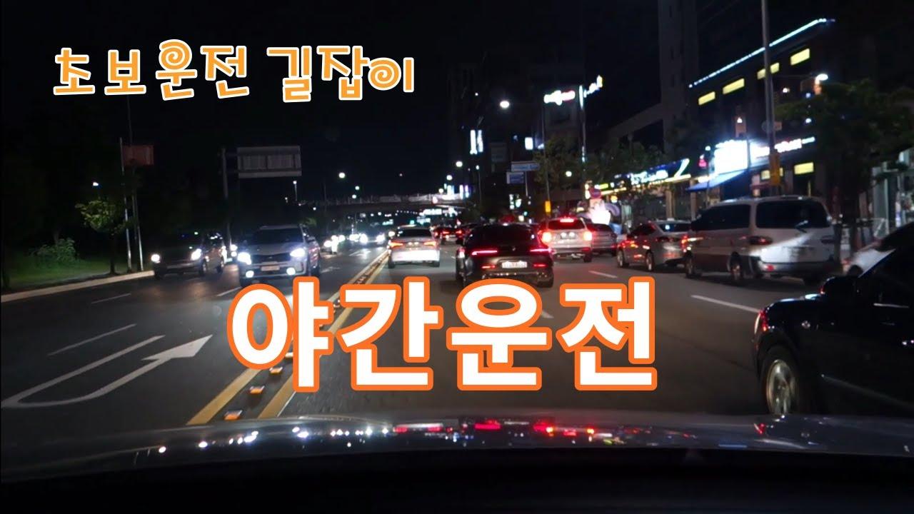 [초보운전 길잡이] 안전한 야간운전