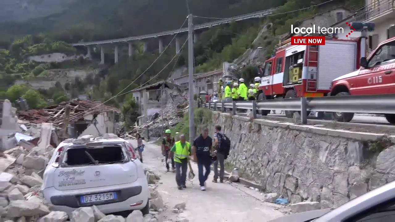 Pescara Camera Live : Diretta live: terremoto centro italia la diretta da pescara del