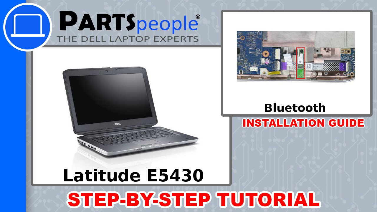 Dell Latitude E5430 (P27G-001) Bluetooth Card How-To Video Tutorial