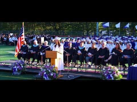 Giulianna Iona's Salutatorian Speech at The Wallenpaupack Area High School Class of 2018 Graduation