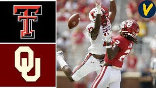 Texas Tech vs #6 Oklahoma | Week 5 | College Football Highlights | 2019
