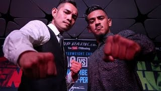 NONITO DONAIRE- JESSIE MAGDALENO FACE OFF @ PRESS CONF/ + ZOU SHIMING & OSCAR VALDEZ