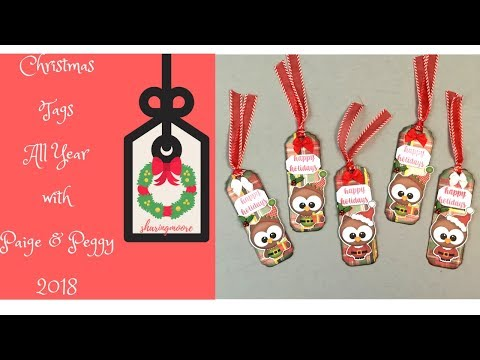 Christmas Gift Tag Share With Paige & Peggy - 10 Nov 18 {Sharingmoore}