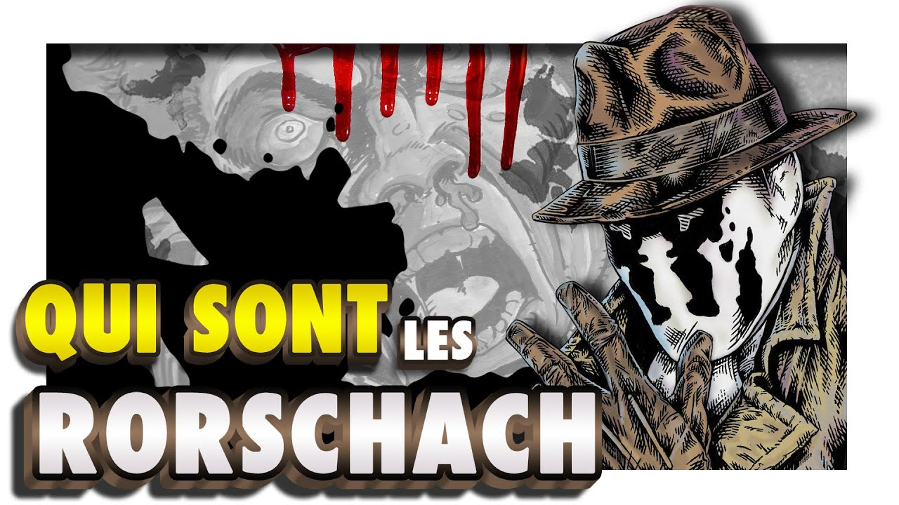 """Download RORSCHACH : la VIE, la MORT des 2 plus FOUS de WATCHMEN !"""""""