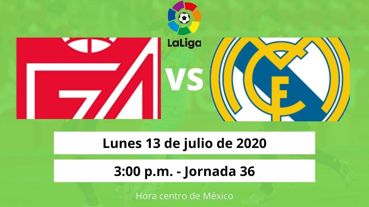 Granada vs. Real Madrid - Reporte del Partido - 13 julio, 2020 - ESPN