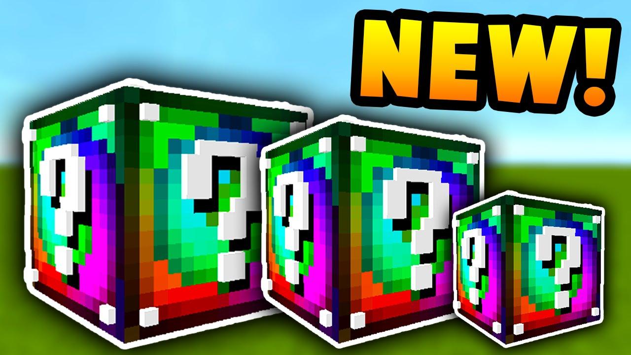 Minecraft SPIRAL LUCKY BLOCKS MOD (Custom Enchants New Bosses