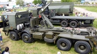 wojskowe ciężarówki Jelcz na AIR FAIR 2013
