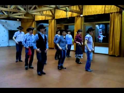HOOKED ON COUNTRY  line dance