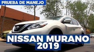 Prueba de manejo Nissan Murano 2019