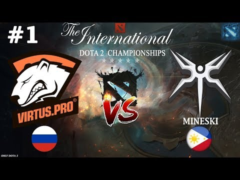 видео: Жуткая БОЙНЯ от ВП! | virtus.pro vs mineski #1 (bo3) | the international 2018