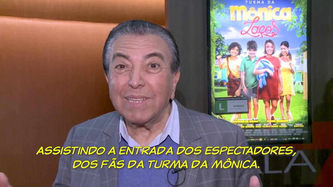 Turma da Mônica Laços - O Filme | Sessão surpresa com Mauricio de Sousa