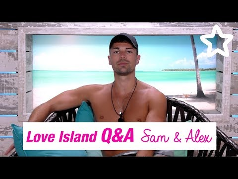 Love Island | Superdrug | Q+A | Sam & Alex