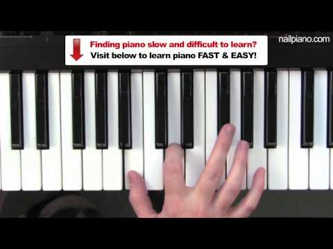 Piano piano chords b minor : Vote No on : Bm chord on Keyboard
