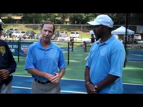 Clarkston GA - Miliam Park tennis court opening (Sept 26, 2011).MP4.mp4