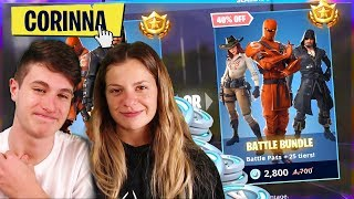 My RAGAZZA CREATE YOUR ACCOUNT on FORTNITE!!
