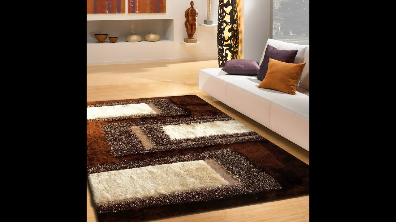 Shag Area Rugs For Living Room handmade living room shag area rugs in brownrug addiction