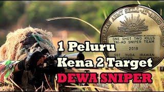 REKOR GILA SNIPER INDONESIA 1 Peluru 2 Target KENA Lomba Menembak AASAM 2018
