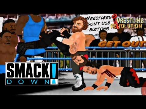 Download 10-Man Tag Team Match: SmackDown, May. 7, 2021 | Wrestling Revolution