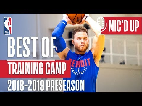 Best Mic'd Up From Training Camp | 2018-2019 NBA Preseason