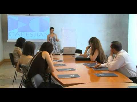 Internship of  Yerevan Sate Academy of Fine Arts' Students: Day 1