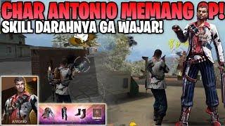 SKILL TERBAIK DI EARLY GAME! REVIEW CHAR ANTONIO HP UNLIMITED! - Garena Free Fire