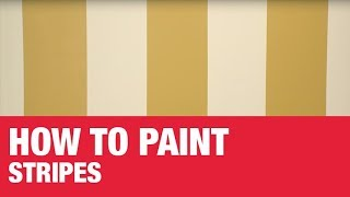 Learn how to paint stripes on your walls. Ace's Home Expert Lou Manfredini explains how to measure and plan your pattern. Then, see tips on how to get a razor ...