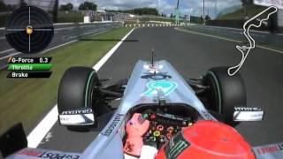 Michael Schumacher Onboard Lap - Japan 2010.