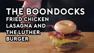 Binging with Babish: Fried Chicken Lasagna & The Luther Burger from the Boondocks thumbnail