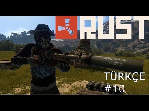 RUST Türkçe | Bölüm 10| Ev ve Kale patlatıyoruz | Multiplayer Türkçe