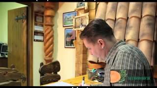 Отделка сруба: художественная ковка и резба(Отделка интерьера и экстерьера сруба. Гармоничное сочетание художественной ковки и резбы., 2013-09-17T09:14:43.000Z)