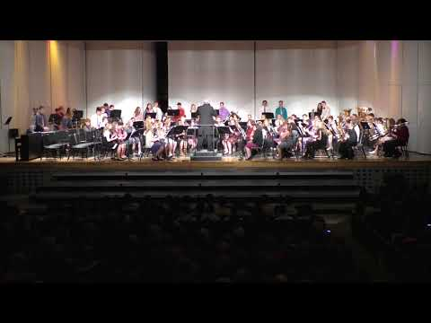 Holiday Concert 2017 Eau Claire Memorial Freshman Band