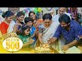Uppum Mulakum│നീലുവിന്റെ പിറന്നാൾ | Flowers│500th Episode👏