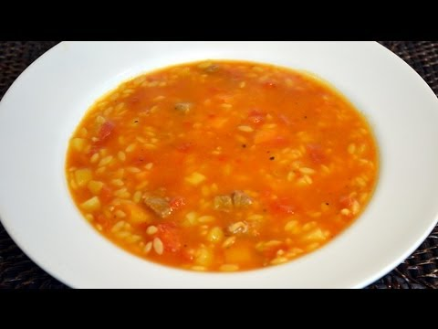 chorba-lsan-tair---orzo-meat-soup-recipe---cookingwithalia---episode-185