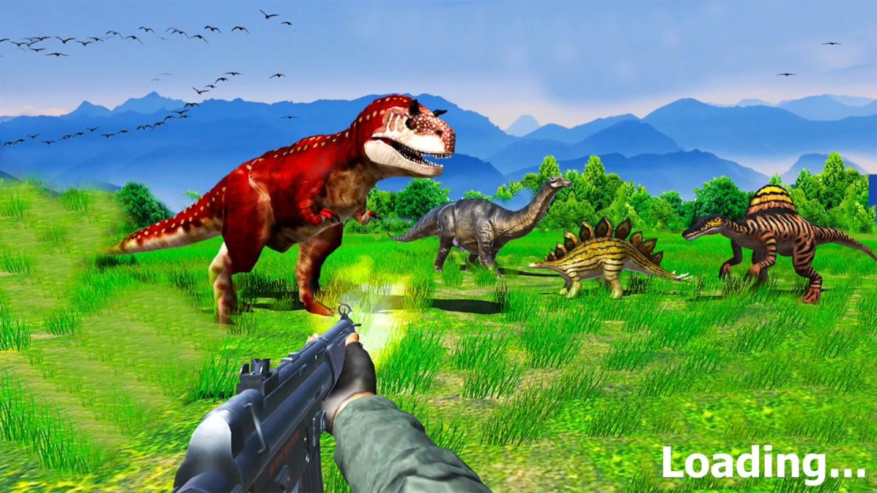 Dinosaur Shooting Games 2018 Dino Hunting FPS [ by Jhatkiona GamersAction ]