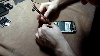 Замена разбитого стекла(экран, тачскрин) Android смартфона H9500(, 2013-11-18T16:14:23.000Z)