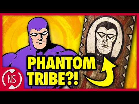 Why Is THE PHANTOM Painted On Tribal Art?!? || Comic Misconceptions || NerdSync