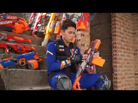Nerf Guns War