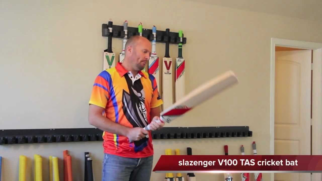 c857570359 Slazenger V100 TAS cricket bat review by www.cricketstoreonline.com -  YouTube