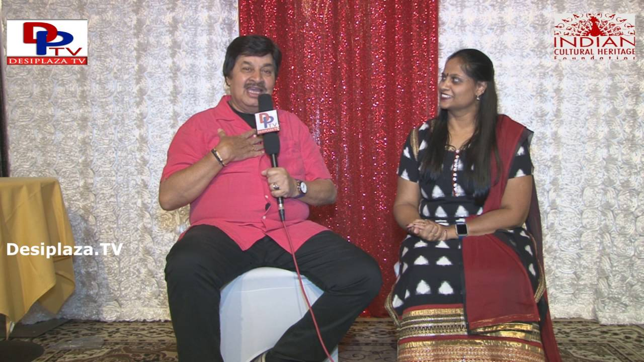 Pranayaraja Dr.Srinath,Famous Kannada Actor speaking to Desiplaza TV