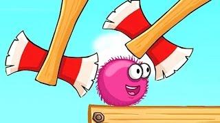 Красный ШАР Red Ball Мультик мультфильм игра для детей малышей frizzle fraz часть 2 - 1