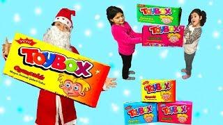NOEL BABA 30 ADET TOYBOX HEDİYE GETİRDİ! İÇİNDEN SÜRPRİZ İLİZYONLAR ÇIKTI. Santa Claus Surprise Gift