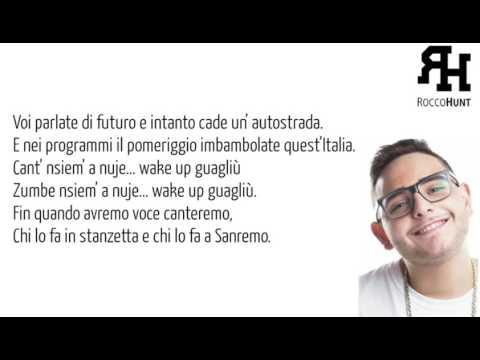 Rocco Hunt   Wake Up LyricsHD Sanremo 2O16