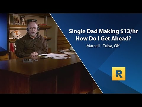 Single dad making $13/hr... how do I get ahead?