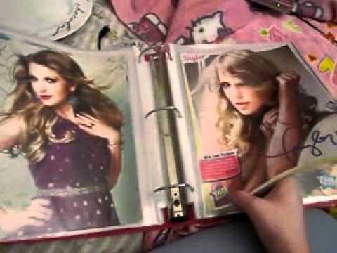 My Taylor Swift binder so far