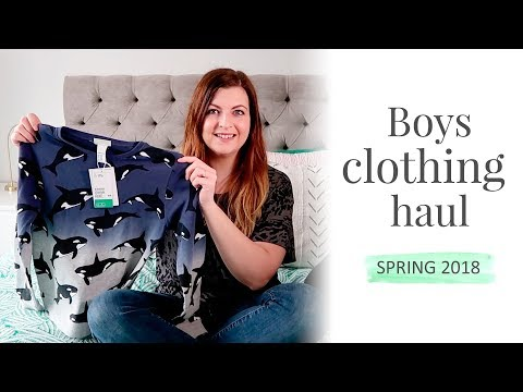 BOYS CLOTHING HAUL | SPRING 2018 | Zara Kids, H&M Kids, Next.